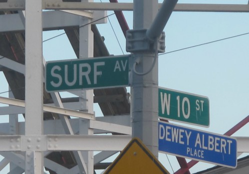 Surf Avenue and West 10th Street