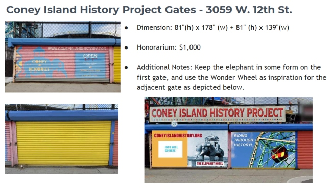 Alliance for Coney island Mural Project