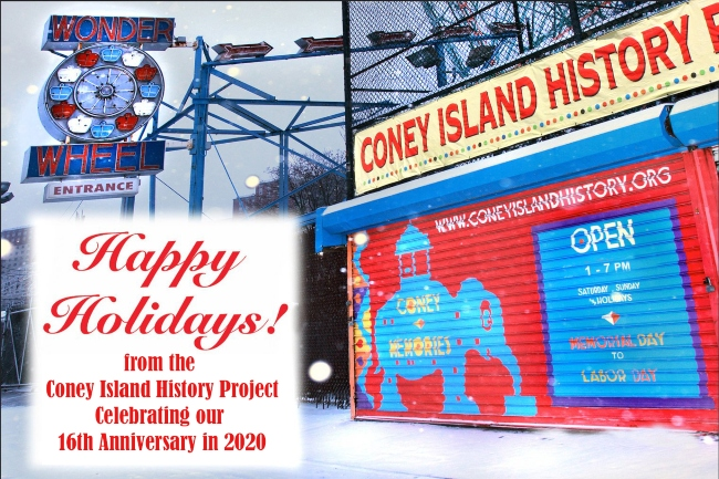 Happy Holidays from the Coney Island History Project