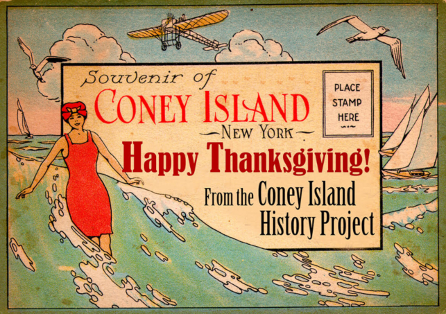 Happy Thanksgiving Coney Island History Project