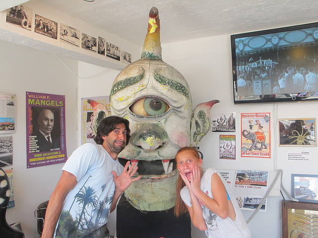 The Spook-A-Rama Cyclops at the Coney Island History Project