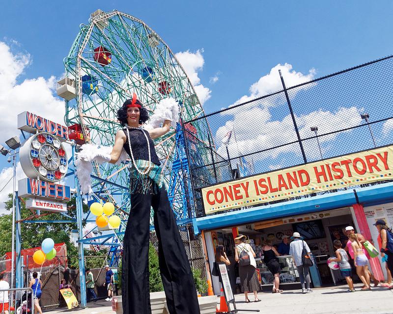 Park Calendar - Luna Park Coney Island