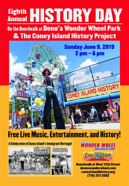History Day Deno's Wonder Wheel Park Coney Island History Project