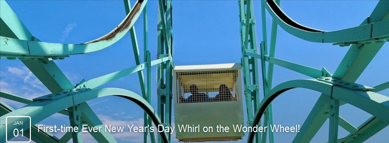 New Year's Day Wonder Wheel