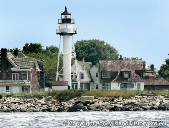 Norton's Point Lighthouse Photo copyright Charles Denson
