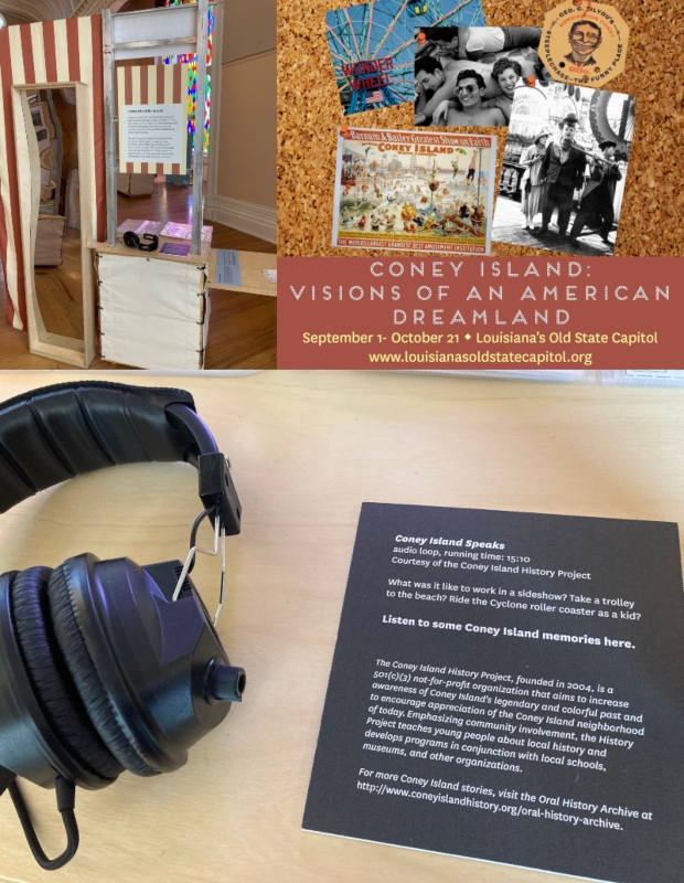 Coney Island History Project Louisiana Old State Capitol