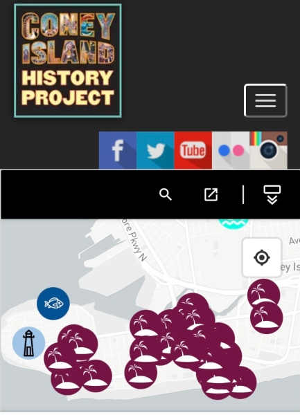 Coney Island History Project Interactive Map