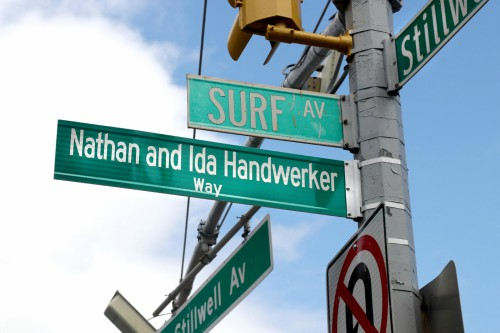 Nathan and Ida Handwerker Way