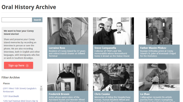 Coney Island History Project Oral History Archive