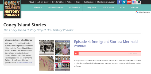 Coney Island History Project Podcast