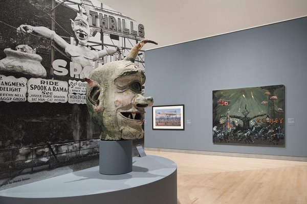 The Spook-A-Rama Cyclops at Brooklyn Museum