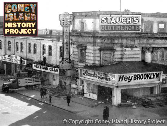 Stauch's Movie Theater Coney Island