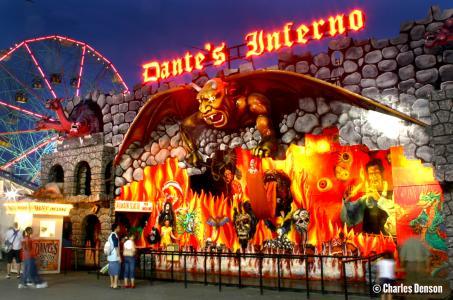 Dante S Inferno Coney Island History Project