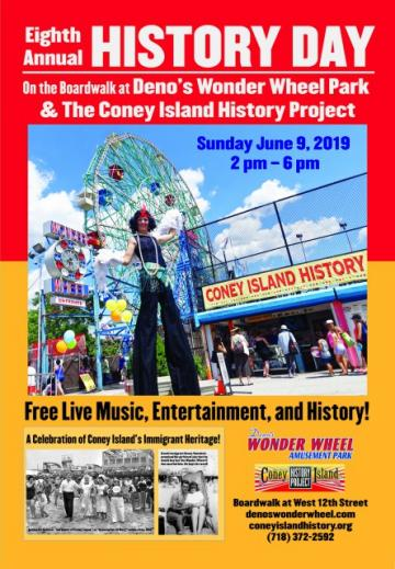 History Day Denos Wonder Wheel Park Coney Island History Project
