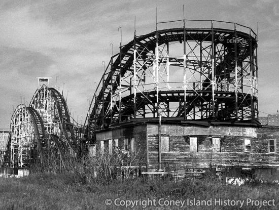 Thunderbolt Roller Coaster Photo by Charles Denson