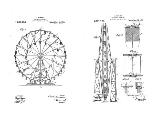 Wonder Wheel Patent