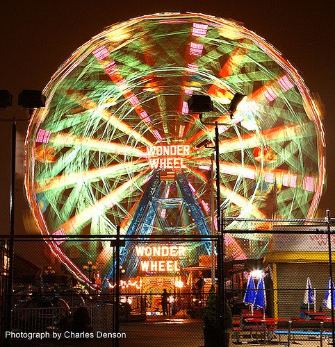 Wonder Wheel Photo © Charles Denson