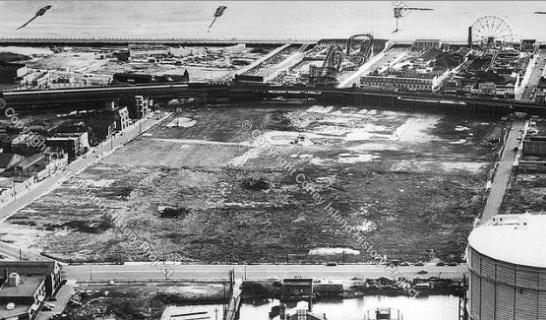 Vacant Luna Park Site - Coney Island History Project Collection