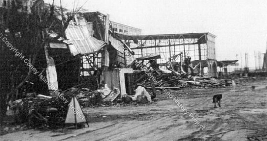 Demolished Steeplechase Pavilion Coney Island History Project exhibit. Photo by James Onorato